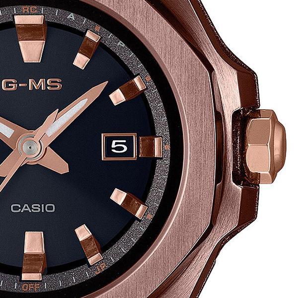BABY-G ベビーG G-MS ジーミズ MSG-W350CG-5AJF レディース 腕時計 電波ソーラー オクタゴンベゼル 八角形 ダークブラウン 国内正規品 カシオ|theclockhouse-y|05