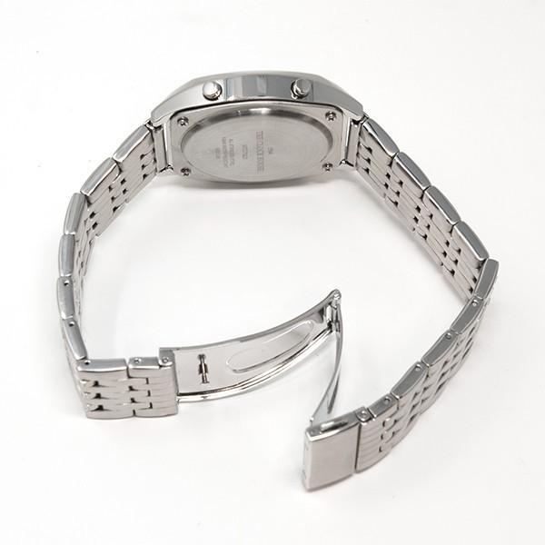 ザ・クロックハウス タウンカジュアル メタル デジタル ユニセックス 腕時計 トノー グレー シルバー レトロモダン 防水 MTC7003-GY1A|theclockhouse-y|07