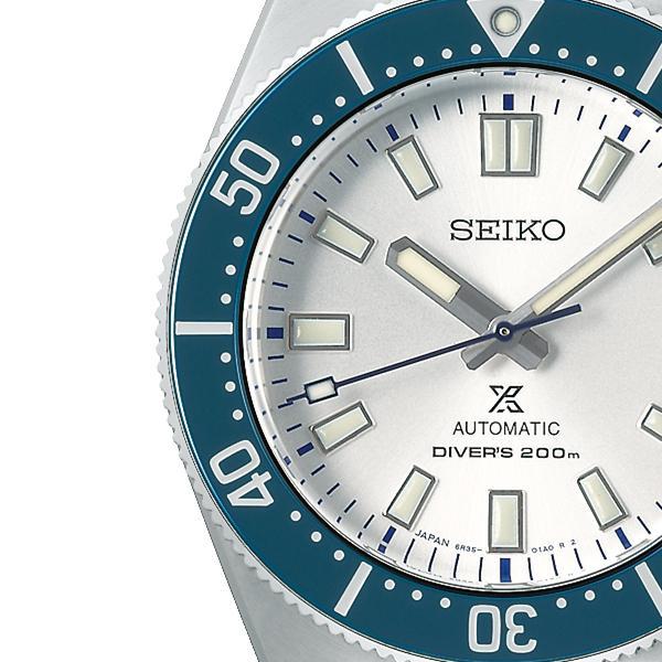 セイコー プロスペックス セイコー創業140周年記念 限定モデル SBDC139 メンズ 腕時計 メカニカル 自動巻き ブルー コアショップ専売モデル|theclockhouse-y|04