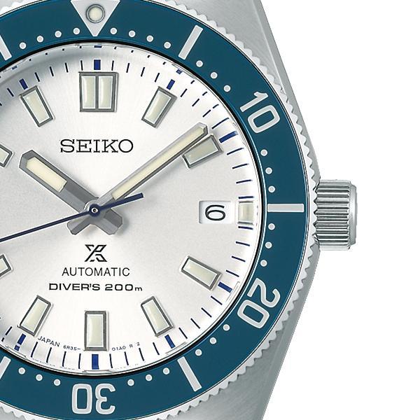 セイコー プロスペックス セイコー創業140周年記念 限定モデル SBDC139 メンズ 腕時計 メカニカル 自動巻き ブルー コアショップ専売モデル|theclockhouse-y|05
