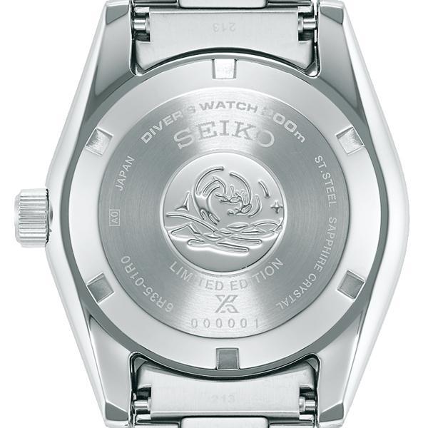 セイコー プロスペックス セイコー創業140周年記念 限定モデル SBDC139 メンズ 腕時計 メカニカル 自動巻き ブルー コアショップ専売モデル|theclockhouse-y|06