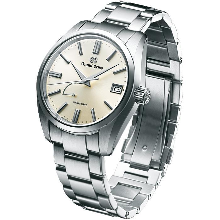 グランドセイコー 9R スプリングドライブ スタンダードモデル SBGA437 メンズ 腕時計 厚銀 9R65|theclockhouse-y|04