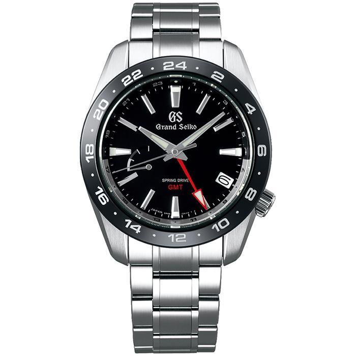 グランドセイコー 9R スプリングドライブ GMT SBGE253 メンズ 腕時計 ブラック セラミックス メタルベルト スクリューバック 9R66 theclockhouse-y 02