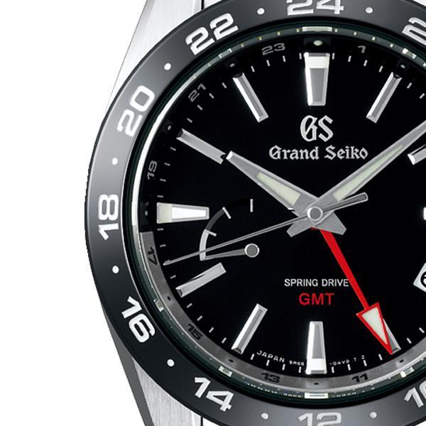 グランドセイコー 9R スプリングドライブ GMT SBGE253 メンズ 腕時計 ブラック セラミックス メタルベルト スクリューバック 9R66 theclockhouse-y 04