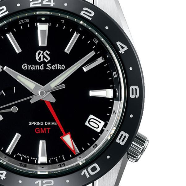 グランドセイコー 9R スプリングドライブ GMT SBGE253 メンズ 腕時計 ブラック セラミックス メタルベルト スクリューバック 9R66 theclockhouse-y 05