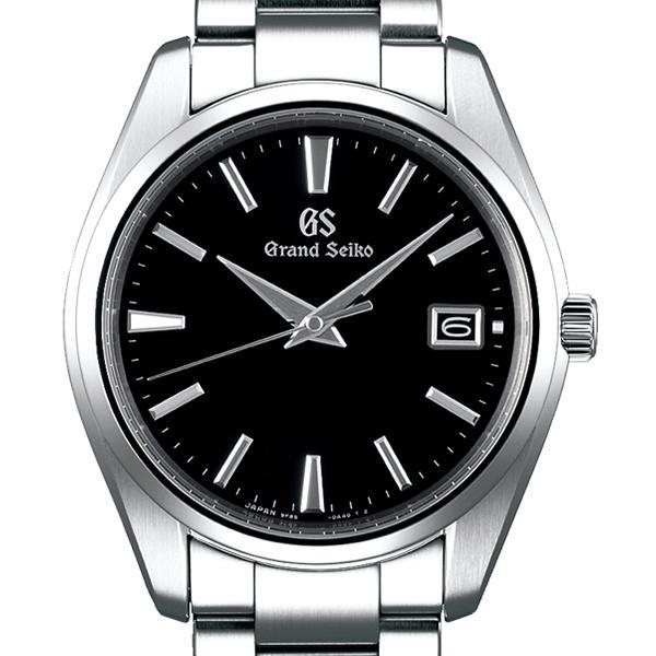 グランドセイコー クオーツ 9F メンズ 腕時計 SBGP011 ブラック メタルベルト スクリューバック 時差修正機能 9F85|theclockhouse-y|03