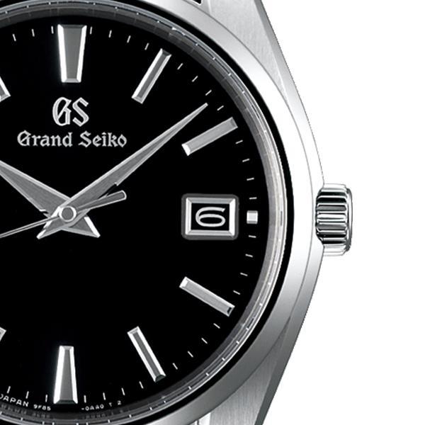 グランドセイコー クオーツ 9F メンズ 腕時計 SBGP011 ブラック メタルベルト スクリューバック 時差修正機能 9F85|theclockhouse-y|05