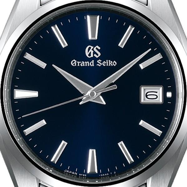 グランドセイコー クオーツ 9F メンズ 腕時計 SBGP013 ネイビー メタルベルト スクリューバック 時差修正機能 9F85|theclockhouse-y|04