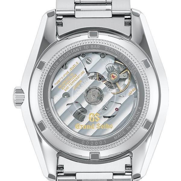 グランドセイコー メカニカル 9S 自動巻き メンズ 腕時計 SBGR315 シルバー メタルベルト カレンダー theclockhouse-y 05