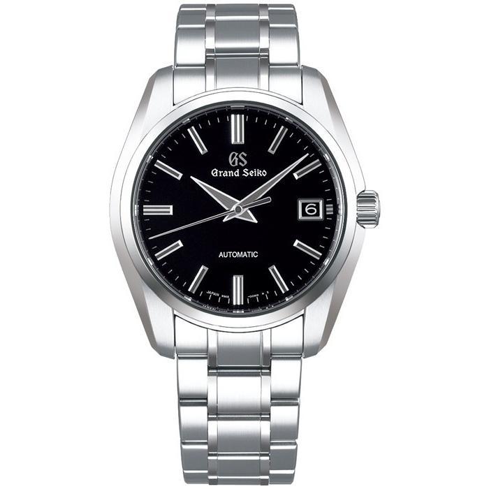 グランドセイコー メカニカル 9S 自動巻き メンズ 腕時計 SBGR317 ブラック メタルベルト カレンダー|theclockhouse-y|02