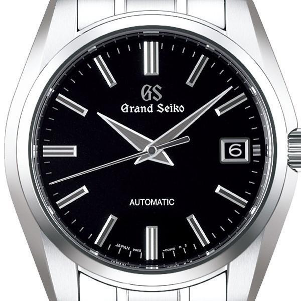 グランドセイコー メカニカル 9S 自動巻き メンズ 腕時計 SBGR317 ブラック メタルベルト カレンダー|theclockhouse-y|03