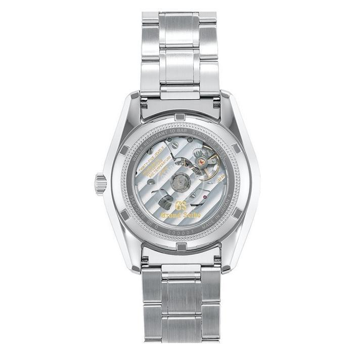 グランドセイコー メカニカル 9S 自動巻き メンズ 腕時計 SBGR317 ブラック メタルベルト カレンダー|theclockhouse-y|04