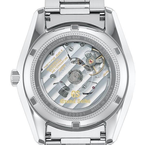 グランドセイコー メカニカル 9S 自動巻き メンズ 腕時計 SBGR317 ブラック メタルベルト カレンダー|theclockhouse-y|05