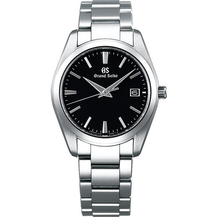 グランドセイコー クオーツ 9F メンズ 腕時計 SBGX261 ブラック メタルベルト カレンダー スクリューバック|theclockhouse-y|02
