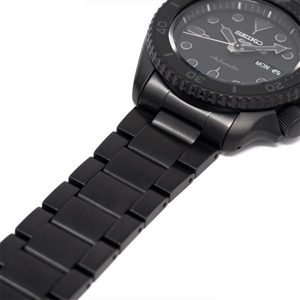 セイコー 5スポーツ ストリート 流通限定モデル SBSA075 メンズ 腕時計 メカニカル 自動巻き 機械式 メタル ブラック 日本製 ショップ専売|theclockhouse-y|12
