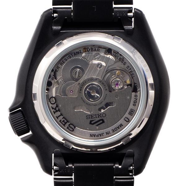 セイコー 5スポーツ ストリート 流通限定モデル SBSA075 メンズ 腕時計 メカニカル 自動巻き 機械式 メタル ブラック 日本製 ショップ専売|theclockhouse-y|14