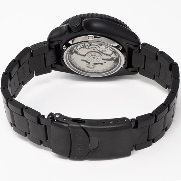 セイコー 5スポーツ ストリート 流通限定モデル SBSA075 メンズ 腕時計 メカニカル 自動巻き 機械式 メタル ブラック 日本製 ショップ専売|theclockhouse-y|15