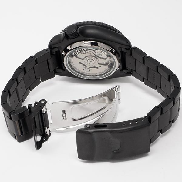 セイコー 5スポーツ ストリート 流通限定モデル SBSA075 メンズ 腕時計 メカニカル 自動巻き 機械式 メタル ブラック 日本製 ショップ専売|theclockhouse-y|16