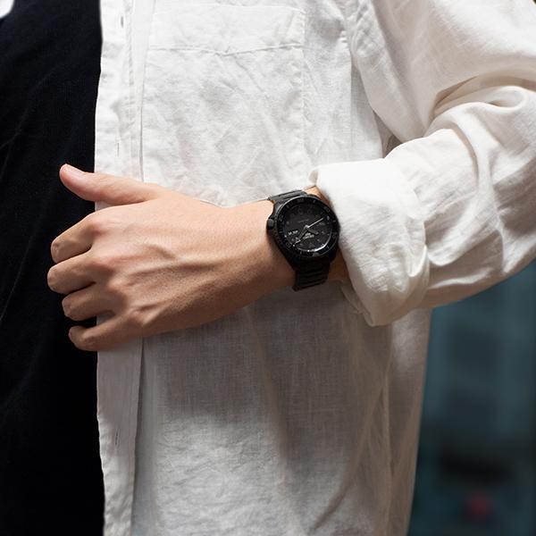 セイコー 5スポーツ ストリート 流通限定モデル SBSA075 メンズ 腕時計 メカニカル 自動巻き 機械式 メタル ブラック 日本製 ショップ専売|theclockhouse-y|17