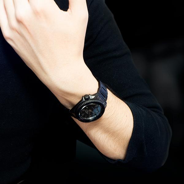 セイコー 5スポーツ ストリート 流通限定モデル SBSA075 メンズ 腕時計 メカニカル 自動巻き 機械式 メタル ブラック 日本製 ショップ専売|theclockhouse-y|18