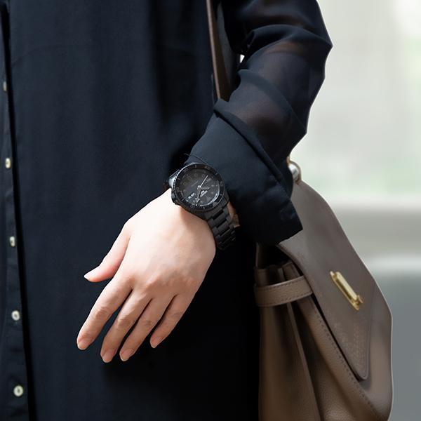 セイコー 5スポーツ ストリート 流通限定モデル SBSA075 メンズ 腕時計 メカニカル 自動巻き 機械式 メタル ブラック 日本製 ショップ専売|theclockhouse-y|20
