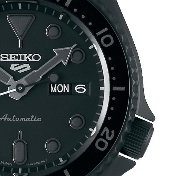 セイコー 5スポーツ ストリート 流通限定モデル SBSA075 メンズ 腕時計 メカニカル 自動巻き 機械式 メタル ブラック 日本製 ショップ専売|theclockhouse-y|05