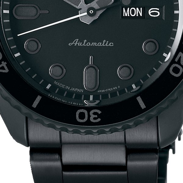 セイコー 5スポーツ ストリート 流通限定モデル SBSA075 メンズ 腕時計 メカニカル 自動巻き 機械式 メタル ブラック 日本製 ショップ専売|theclockhouse-y|07