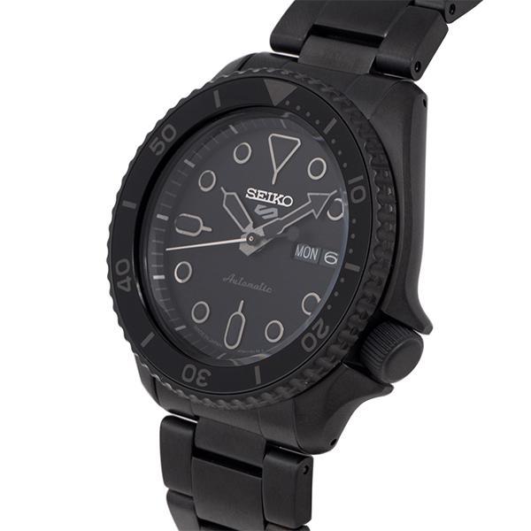 セイコー 5スポーツ ストリート 流通限定モデル SBSA075 メンズ 腕時計 メカニカル 自動巻き 機械式 メタル ブラック 日本製 ショップ専売|theclockhouse-y|08