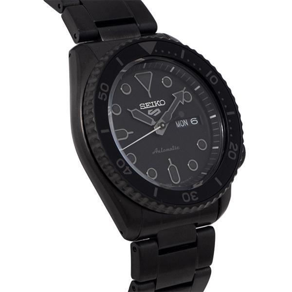 セイコー 5スポーツ ストリート 流通限定モデル SBSA075 メンズ 腕時計 メカニカル 自動巻き 機械式 メタル ブラック 日本製 ショップ専売|theclockhouse-y|09