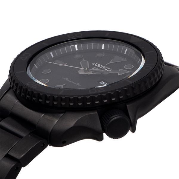 セイコー 5スポーツ ストリート 流通限定モデル SBSA075 メンズ 腕時計 メカニカル 自動巻き 機械式 メタル ブラック 日本製 ショップ専売|theclockhouse-y|10