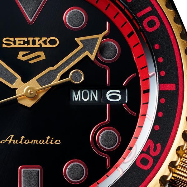セイコー 5スポーツ ストリートファイターV コラボ 限定 ケン SBSA080 メンズ 腕時計 メカニカル 日本製 STREET FIGHTER V KEN|theclockhouse-y|12