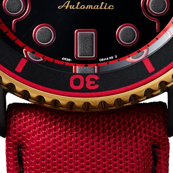 セイコー 5スポーツ ストリートファイターV コラボ 限定 ケン SBSA080 メンズ 腕時計 メカニカル 日本製 STREET FIGHTER V KEN|theclockhouse-y|13