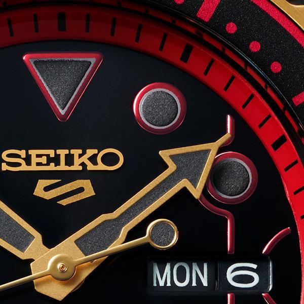 セイコー 5スポーツ ストリートファイターV コラボ 限定 ケン SBSA080 メンズ 腕時計 メカニカル 日本製 STREET FIGHTER V KEN|theclockhouse-y|14