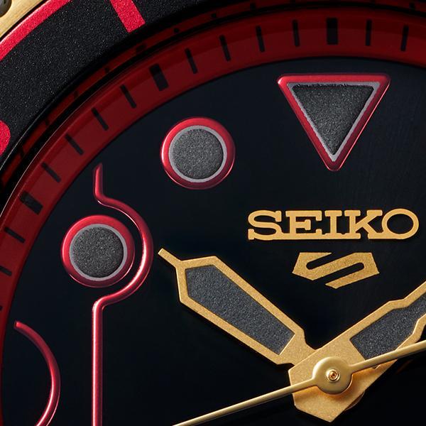 セイコー 5スポーツ ストリートファイターV コラボ 限定 ケン SBSA080 メンズ 腕時計 メカニカル 日本製 STREET FIGHTER V KEN|theclockhouse-y|15