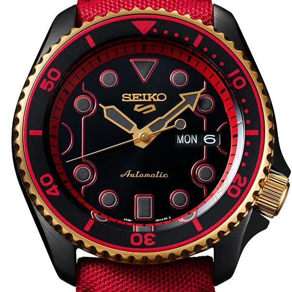 セイコー 5スポーツ ストリートファイターV コラボ 限定 ケン SBSA080 メンズ 腕時計 メカニカル 日本製 STREET FIGHTER V KEN|theclockhouse-y|04