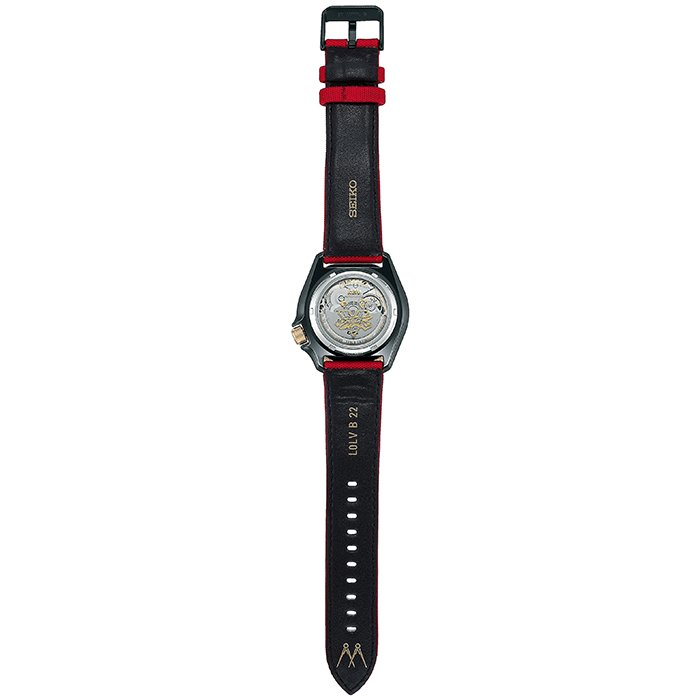 セイコー 5スポーツ ストリートファイターV コラボ 限定 ケン SBSA080 メンズ 腕時計 メカニカル 日本製 STREET FIGHTER V KEN|theclockhouse-y|06