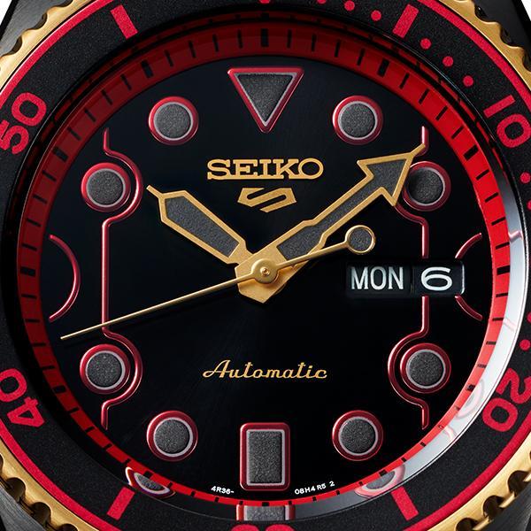 セイコー 5スポーツ ストリートファイターV コラボ 限定 ケン SBSA080 メンズ 腕時計 メカニカル 日本製 STREET FIGHTER V KEN|theclockhouse-y|09