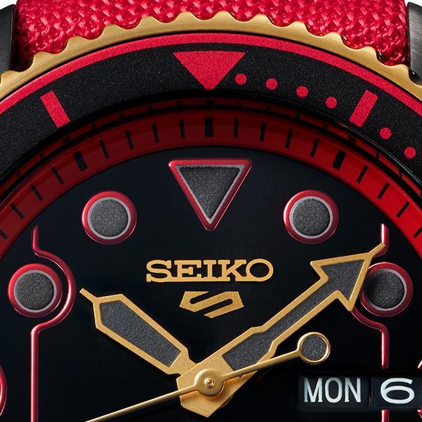 セイコー 5スポーツ ストリートファイターV コラボ 限定 ケン SBSA080 メンズ 腕時計 メカニカル 日本製 STREET FIGHTER V KEN|theclockhouse-y|10