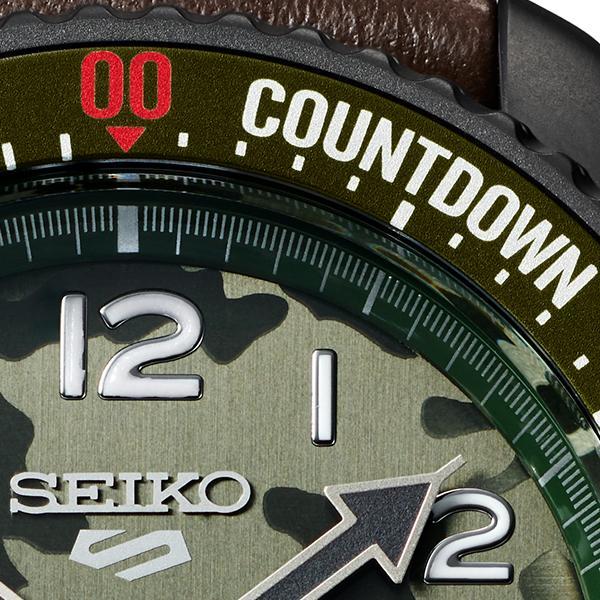 セイコー 5スポーツ ストリートファイターV コラボ 限定 ガイル SBSA081 メンズ 腕時計 メカニカル レザーバンド 日本製 STREET FIGHTER GUILE|theclockhouse-y|14