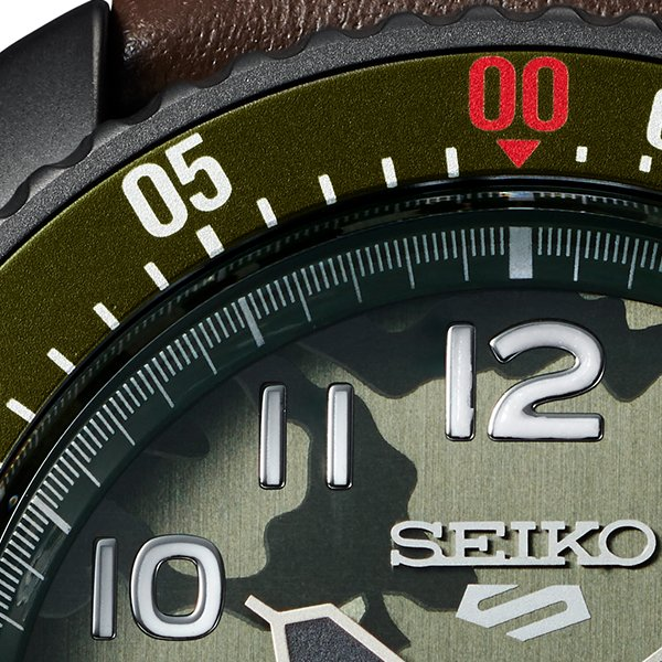 セイコー 5スポーツ ストリートファイターV コラボ 限定 ガイル SBSA081 メンズ 腕時計 メカニカル レザーバンド 日本製 STREET FIGHTER GUILE|theclockhouse-y|15