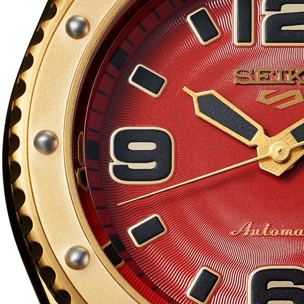 セイコー 5スポーツ ストリートファイターV コラボ 限定 ザンギエフ SBSA084 メンズ 腕時計 メカニカル ナイロン 日本製 STREET FIGHTER V theclockhouse-y 11
