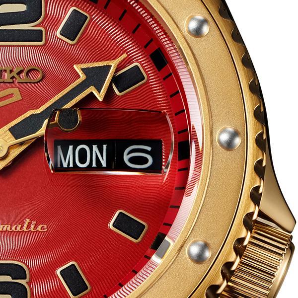 セイコー 5スポーツ ストリートファイターV コラボ 限定 ザンギエフ SBSA084 メンズ 腕時計 メカニカル ナイロン 日本製 STREET FIGHTER V theclockhouse-y 12