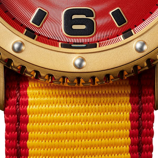 セイコー 5スポーツ ストリートファイターV コラボ 限定 ザンギエフ SBSA084 メンズ 腕時計 メカニカル ナイロン 日本製 STREET FIGHTER V theclockhouse-y 13