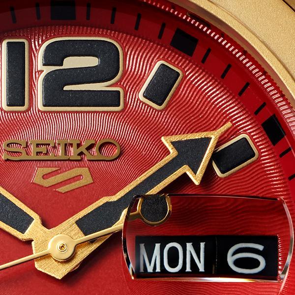 セイコー 5スポーツ ストリートファイターV コラボ 限定 ザンギエフ SBSA084 メンズ 腕時計 メカニカル ナイロン 日本製 STREET FIGHTER V theclockhouse-y 14