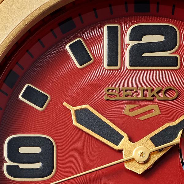 セイコー 5スポーツ ストリートファイターV コラボ 限定 ザンギエフ SBSA084 メンズ 腕時計 メカニカル ナイロン 日本製 STREET FIGHTER V theclockhouse-y 15