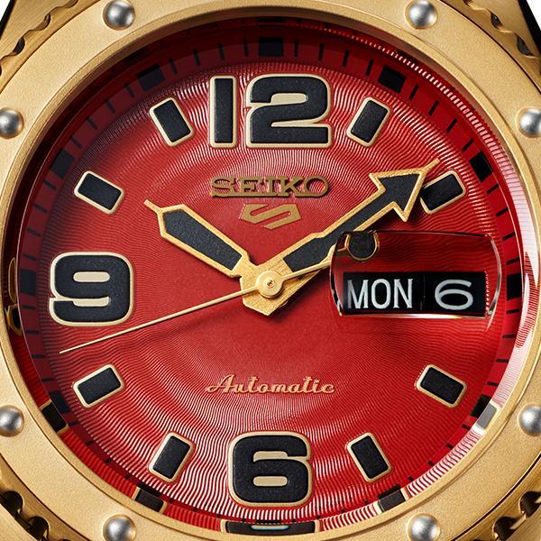 セイコー 5スポーツ ストリートファイターV コラボ 限定 ザンギエフ SBSA084 メンズ 腕時計 メカニカル ナイロン 日本製 STREET FIGHTER V theclockhouse-y 09