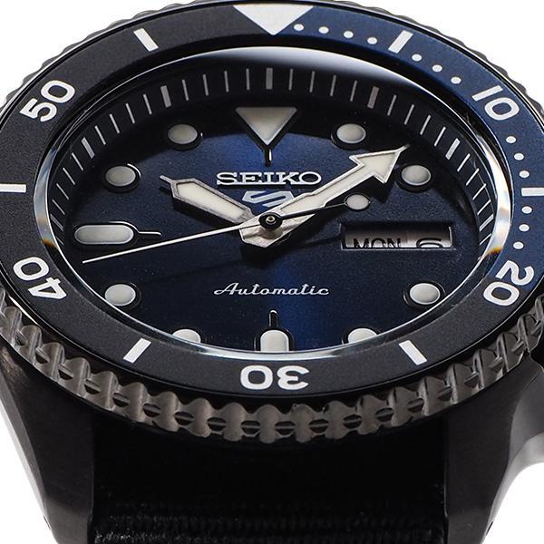 セイコー 5スポーツ ストリート 流通限定モデル SBSA099 メンズ 腕時計 メカニカル 自動巻き ナイロン ブラック 日本製|theclockhouse-y|09