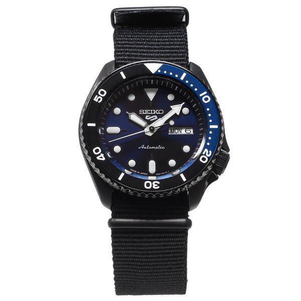 セイコー 5スポーツ ストリート 流通限定モデル SBSA099 メンズ 腕時計 メカニカル 自動巻き ナイロン ブラック 日本製|theclockhouse-y|10