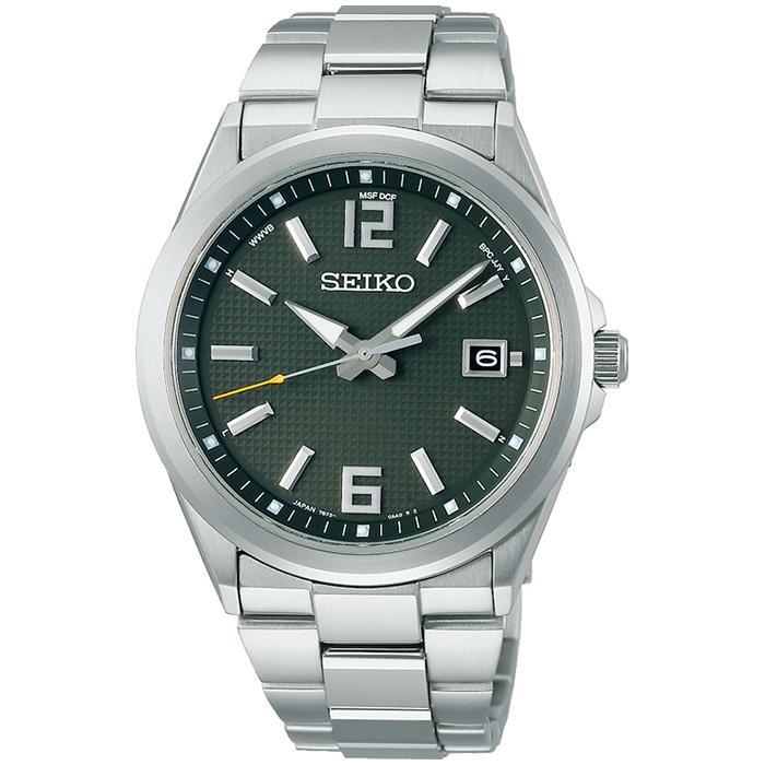 セイコー セレクション master-piece マスターピース 監修 流通限定モデル SBTM303 メンズ 腕時計 ソーラー電波 ギョーシェ模様 グリーン theclockhouse-y 02