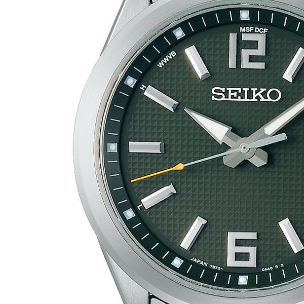 セイコー セレクション master-piece マスターピース 監修 流通限定モデル SBTM303 メンズ 腕時計 ソーラー電波 ギョーシェ模様 グリーン theclockhouse-y 04